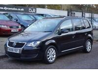 2010 59 VOLKSWAGEN TOURAN 1.9 MATCH TDI BLUEMOTION 5D 103 BHP DIESEL