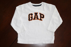 Baby GAP Long Sleeve Embroidered Shirt