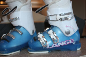 Bottes ski fille 17.5