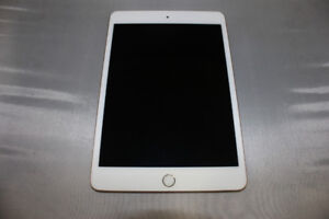 iPad Mini 4 16gb - Gold w/case, charger and cable