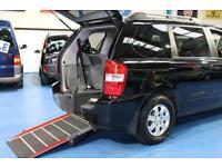 Kia Sedona Ts wheelchair accessible vehicle mobility car 4 seats disabled wav