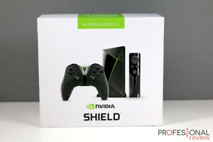 NVIDIA SHIELD (Fully Loaded)  + Remote Control & Game Contro