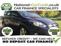 Ford Focus 1.6 TDCI ZETEC 115PS Good / Bad Credit Car Finance (blue) 2013