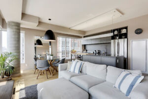 LUXURY FURNISHED 3 Bedroom Condo 5 Min from DT SHORT TERM LEASE