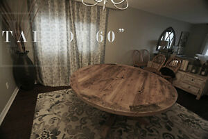 Gray Reclaimed Wood Tables with Smooth, Durable Finishing Oakville / Halton Region Toronto (GTA) image 8