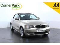 2010 BMW 1 SERIES 118D SE CONVERTIBLE DIESEL