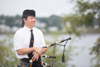 Wedding Bagpiper for Hire