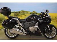 Honda VFR1200 2012**HONDA PANNIERS, CENTRE STAND, SHAFT DRIVE, DIGITAL DISPLAY**