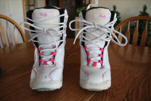 Girls Snowboard Boots - Firefly  - (Size 3.5)