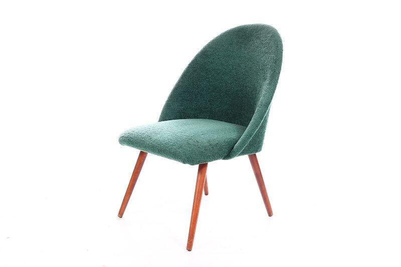 sch ner alter stuhl vintage retro chair 60er jahre sessel lehne elastisch eur 77 77 picclick de. Black Bedroom Furniture Sets. Home Design Ideas