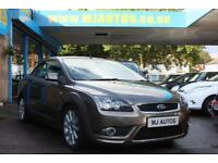 2007 07 FORD FOCUS COUPE CONVERTIBLE 2.0 CC3 144 BHP