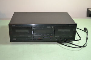 Yamaha Twin Tape Deck - Stereo Component