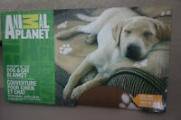 "A ""ANIMAL PLANET"" DOG & CAT BLANKET~BRAND NEW! SMOKE FREE!"