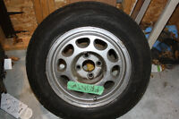 1987 Mustang Winter/All season Tires with Rims (4)