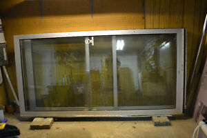 4'x8' glass exterior doors with aluminum frame Kitchener / Waterloo Kitchener Area image 2