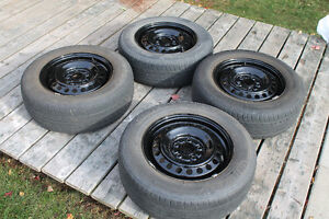 For Sale Four Tires on Rims - Great Condition (205 65 15)