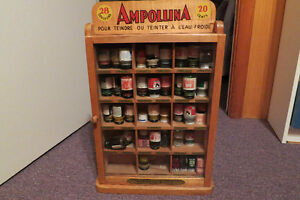 RESERVED: Ampollina Dye Cabinet, complete with glass door