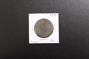 Canada 1881 50 Cent Coin