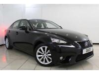 2014 14 LEXUS IS 2.5 300H LUXURY 4DR AUTOMATIC 220 BHP