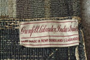 Grenfell Labrador Mission Hand hooked Hanging Rug London Ontario image 3