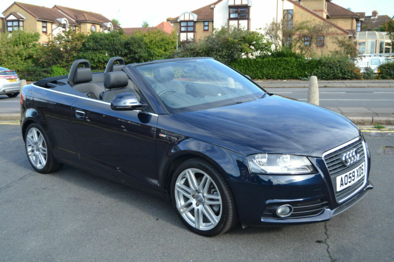 audi a3 cabriolet 2 0tfsi 2009 s line 46 000 miles full history in portslade east sussex. Black Bedroom Furniture Sets. Home Design Ideas