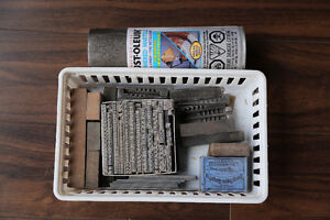 Columbian No. 1 Letterpress w/ starter kit North Shore Greater Vancouver Area image 2