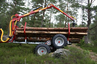 Log loader / trailers for compact tractors $156.00/M and up