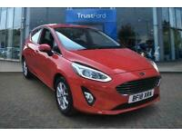 2018 Ford Fiesta 1.1 Zetec Navigation 5dr ** Bluetooth ** Manual Hatchback Petro