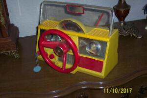 RARE Toy Firebird CAR Dashboard 1950s WORKING