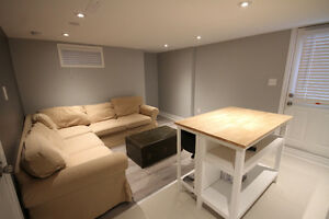 MODERN COZY FURNISHED BASEMENT APARTMENT