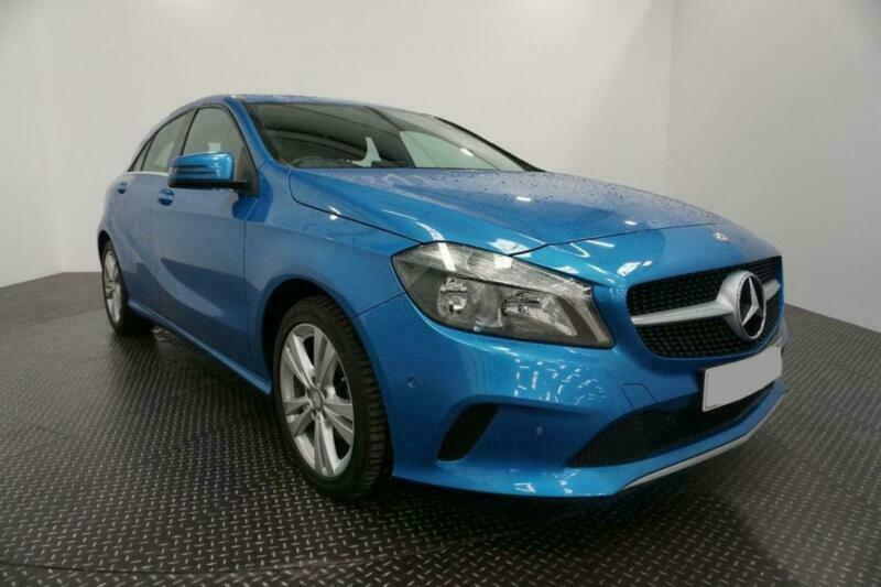 2016 BLUE MERCEDES A180D 1.5 SPORT EXECUTIVE DIESEL MAN CAR FINANCE FR £209 PCM
