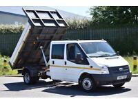 2.2 350 DRW 4D 100 BHP DOUBLE CAB RWD TWIN WHEEL COMBI TIPPER 2012