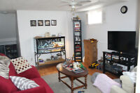 ONE BEDROOM BASEMENT APT. - Walk Out, Above Ground Living.