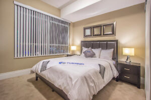 Fully furnished suite Square One, Short Term Rental Mississauga
