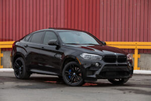 RENT ME LOUEZ-MOI  2018 BMW X6 M - BLACK FIRE EDITION!