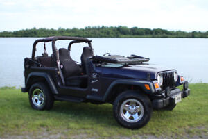 JEEP TJ 1999 2.5 LITTER IN EXCELLENT CONDITION.