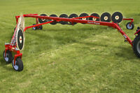 WGI Farm King Hay Rakes and Bale Carriers