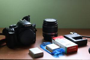 Canon 450D (Rebel XSi) + 18-55mm IS Lens Kit