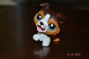 Retired Littlest Pet Shop Collie #237