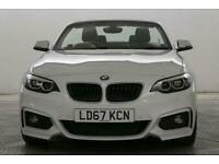 2017 BMW 2 Series 1.5 218i M Sport Cabriolet Petrol Manual