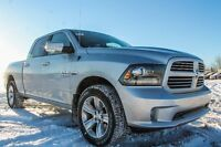 2015 RAM 1500 SPORT CREW CAB WE ARE CLEARING THEM OUT @ GREAT $$
