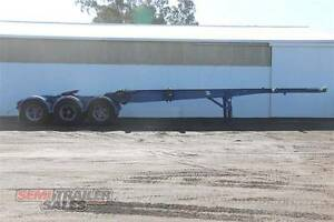 SN#170509 - 1997 Krueger 40FT Skel Semi A Trailer with Pins Bendigo Bendigo City Preview