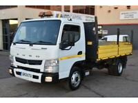 MITSUBISHI FUSO CANTER 3.0 7C15 34 2D 148 BHP TIPPER REAR WD AUTO GEARBO