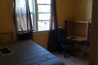 ROOM FOR RENT - QUEENS UNIVERSITY / ST LAWRENCE COLLEGE