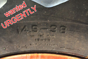 Tractor tire 14.9 x 38