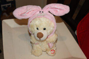 Singing Easter Bunny Soft Toy - too cute