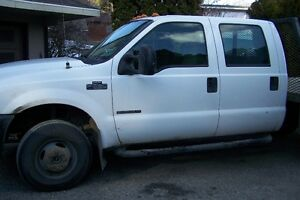 2002 Ford F-350 white Other