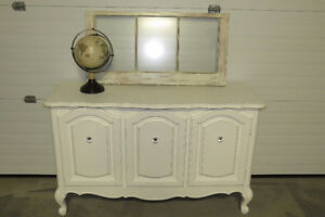 Queen Anne Style Sideboard