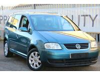 Volkswagen Touran 2.0TDI ( 7st ) DSG 2005 SE RARE DIESEL AUTO 7 SEATER