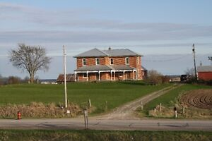 100 + 50 ACRE CASH CROP FARM, 4 BR HOUSE CAMPBELLFORD ON.